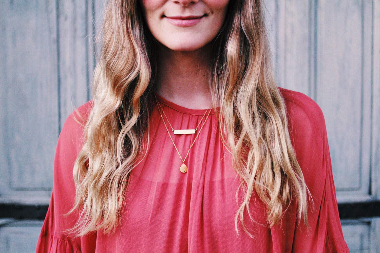 guld-halskæde