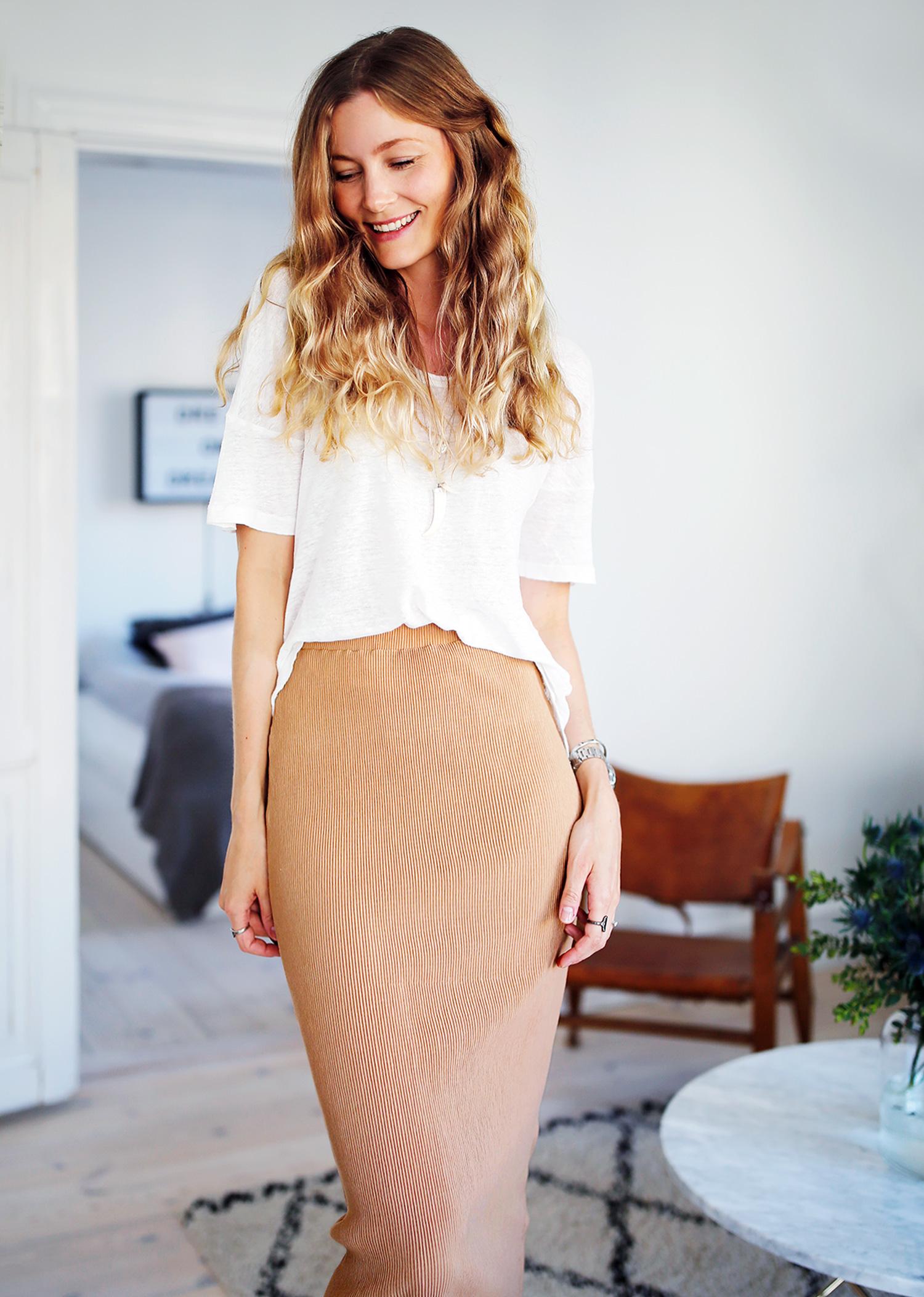 midi-nederdel