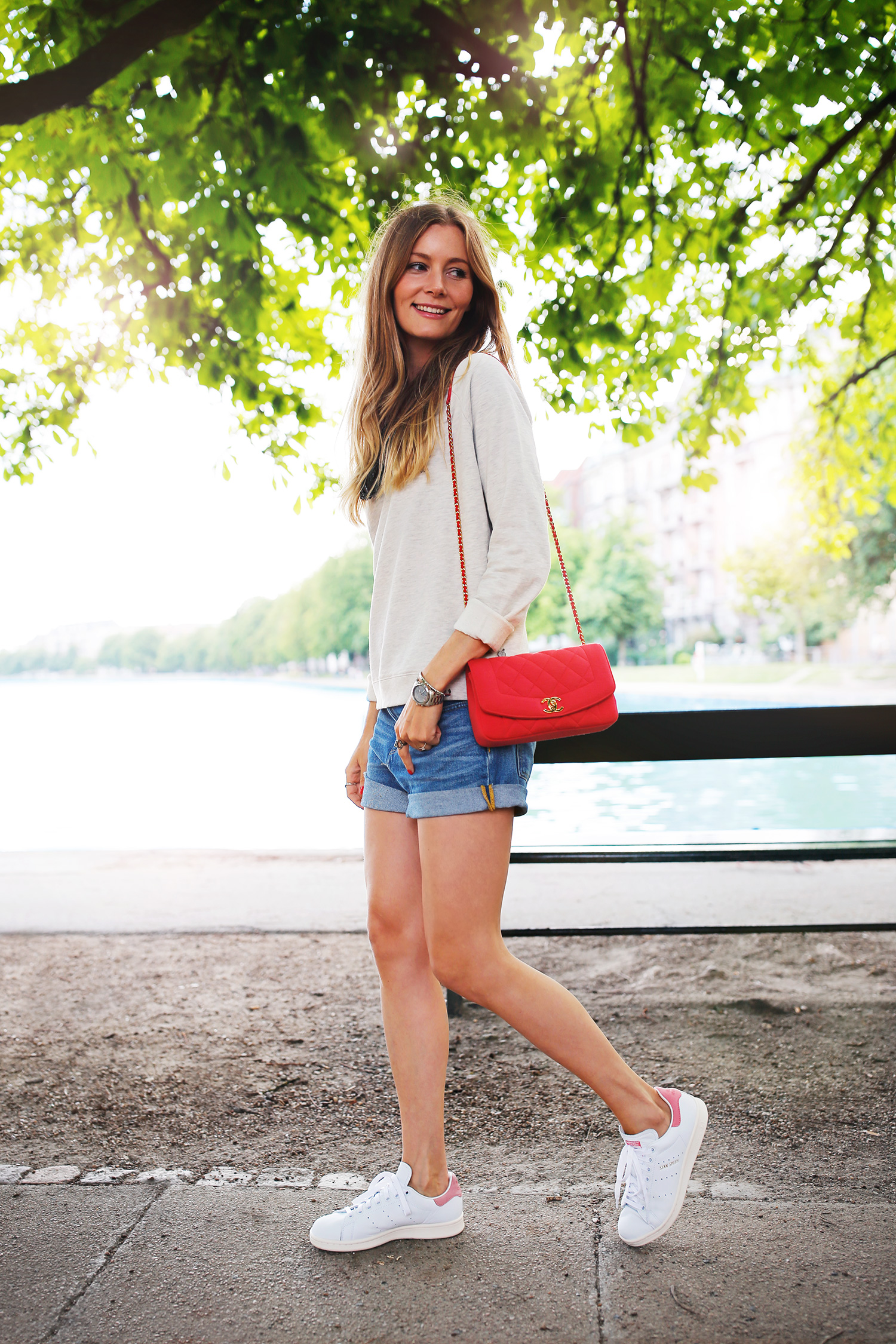 rød-chanel-taske