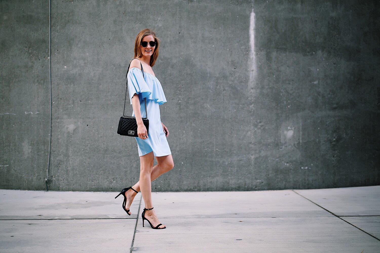 off-shoulder-kjole