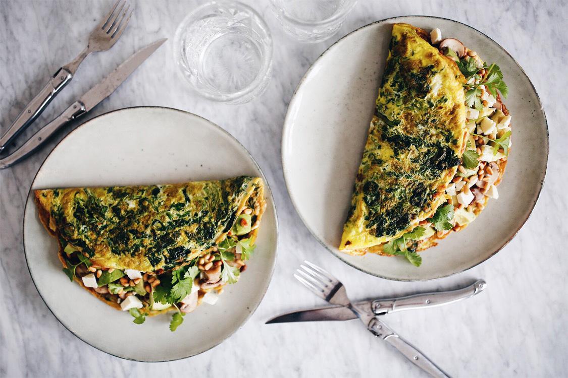 omelet-med-spinat