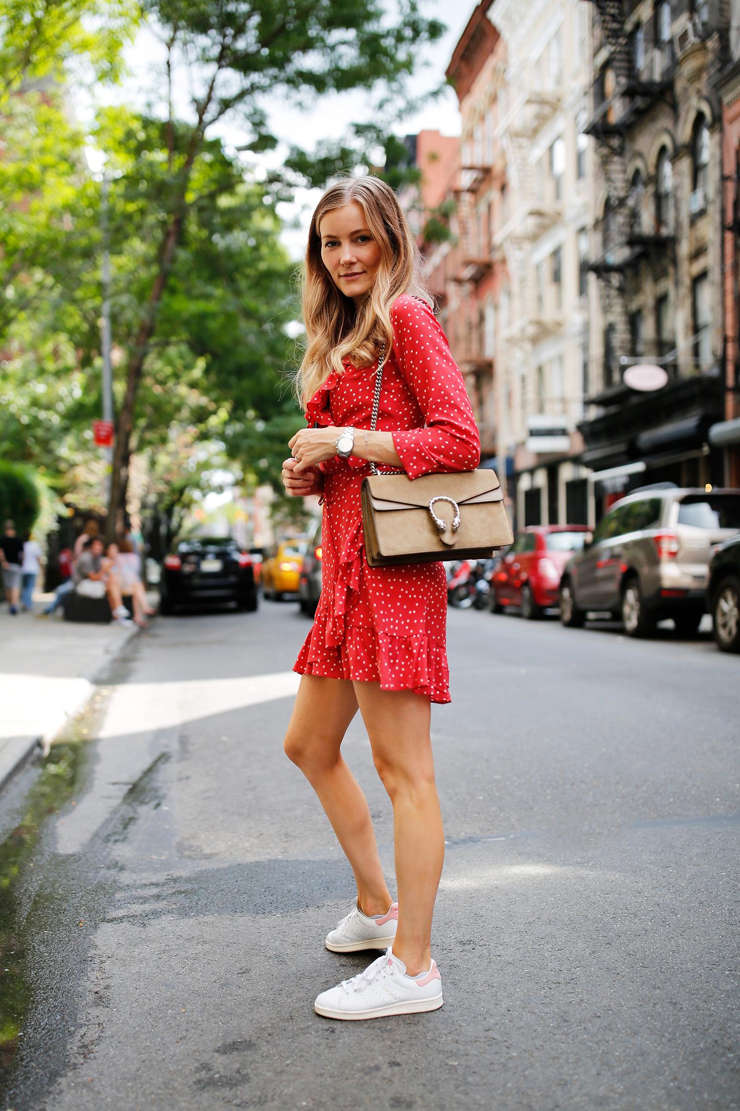 rød-kjole