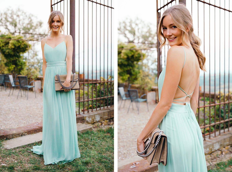 6082755c Minty wedding guest dress - Christina Dueholm