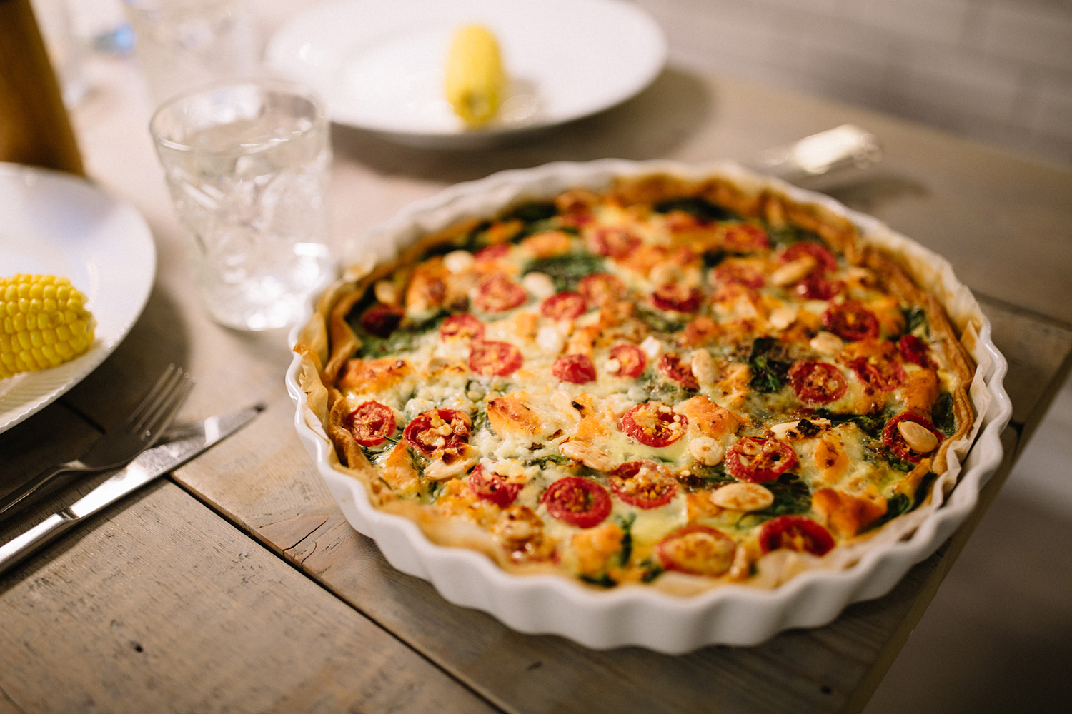 salmon-spinach-pie