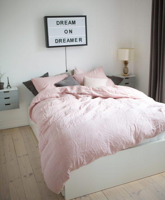 sengetøj, hør, bed linen, H&M Home
