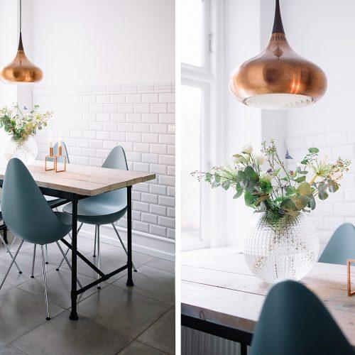 spisebord, træbord, dining table, hjemmelavet bord, karpalund, ikea