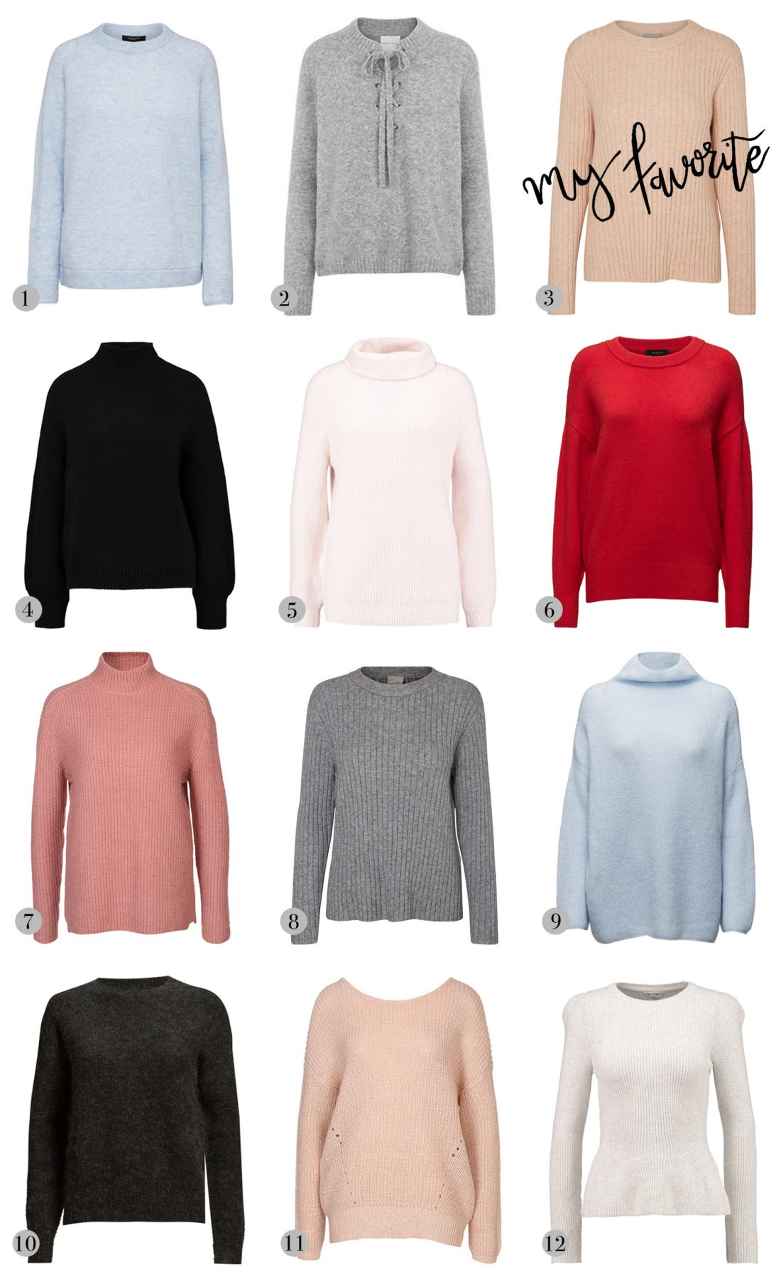 striktrøje, sweater, strik, boozt