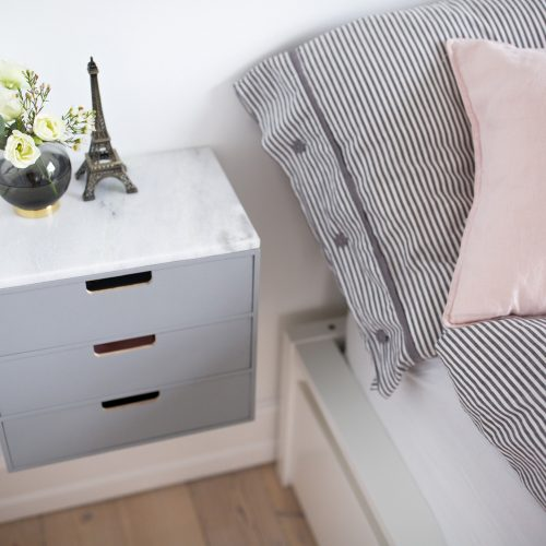 sengebord, bedside table, DIY