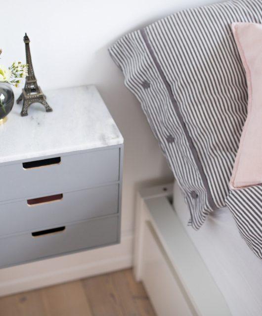 sengebord, bedside table, DIY