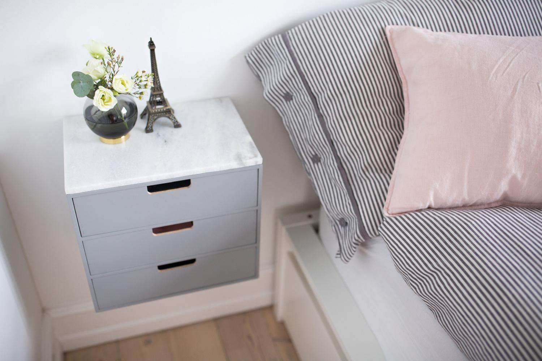 DIY bedside tables Christina Dueholm