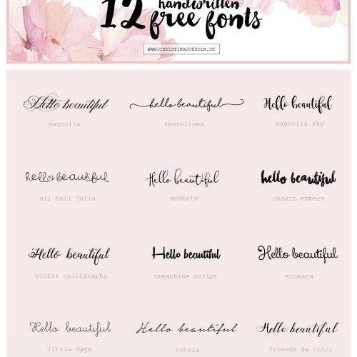 free fonts, gratis skrifttyper, bryllupsinvitation, DIY, invitation, pæn skrifttype
