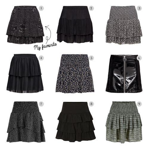 skirts, nederdele, shopping, gang, mango, second female