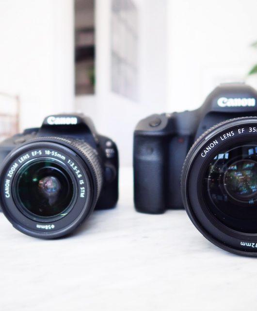 canon 5d markiii, canon eos 100d, kamera, spejlreflekskamera