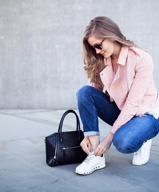Ecco, ecco sneakers, hvide sneakers, outfit