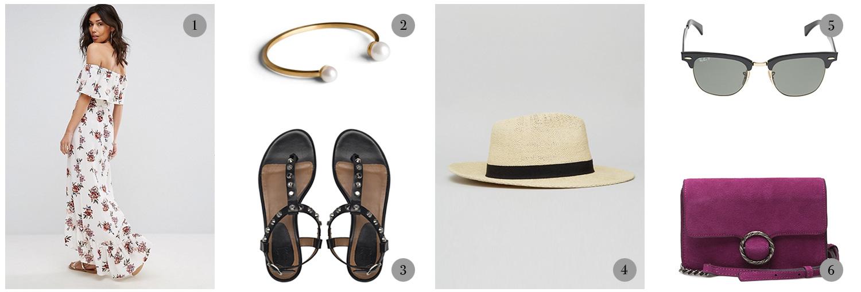tøj, clothes, sommerkjole, sandaler