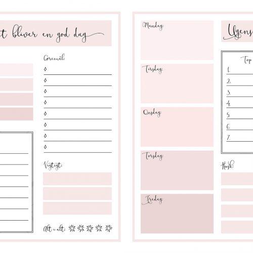 planners, kalender, gratis, download