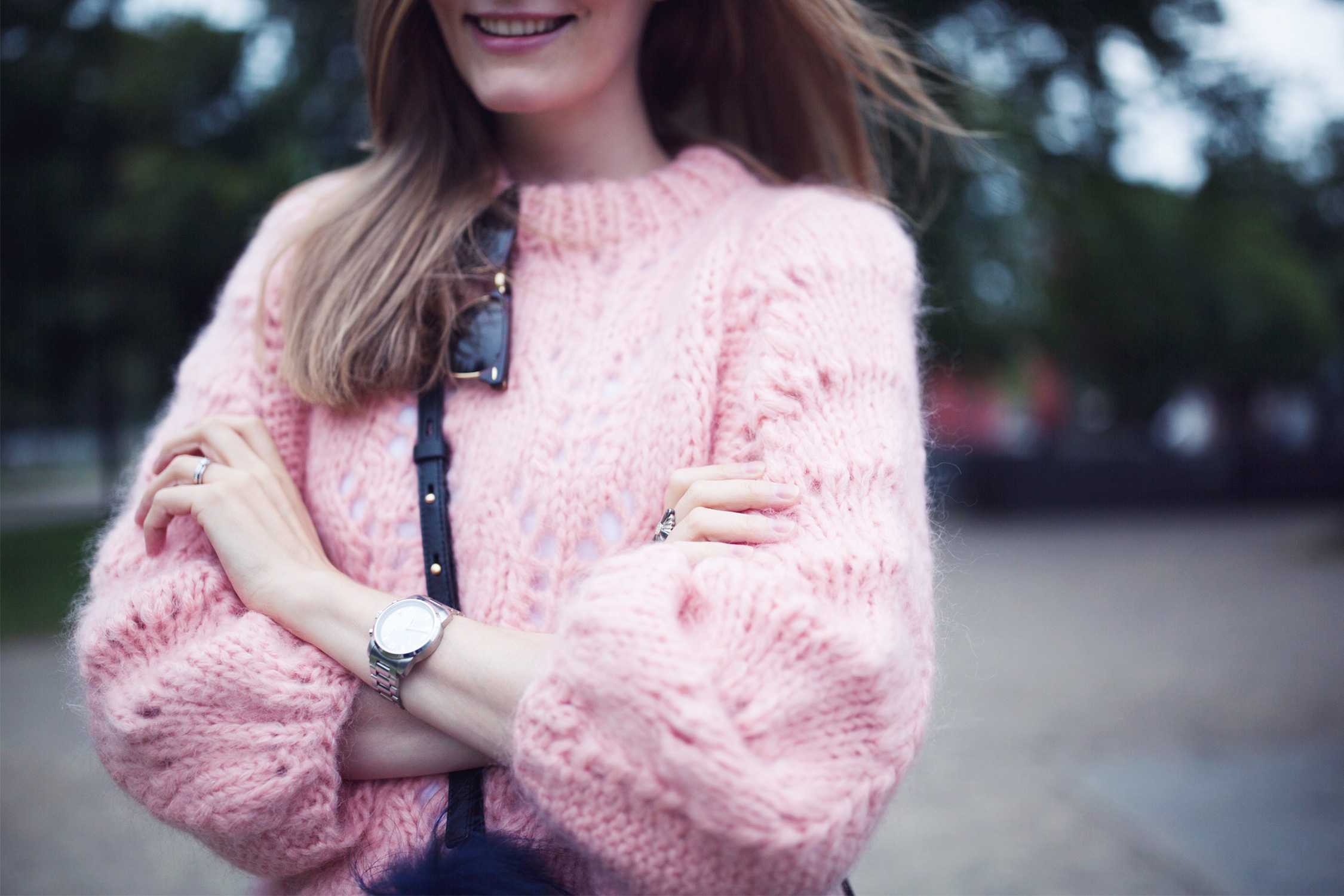 ganni-pink-sweater