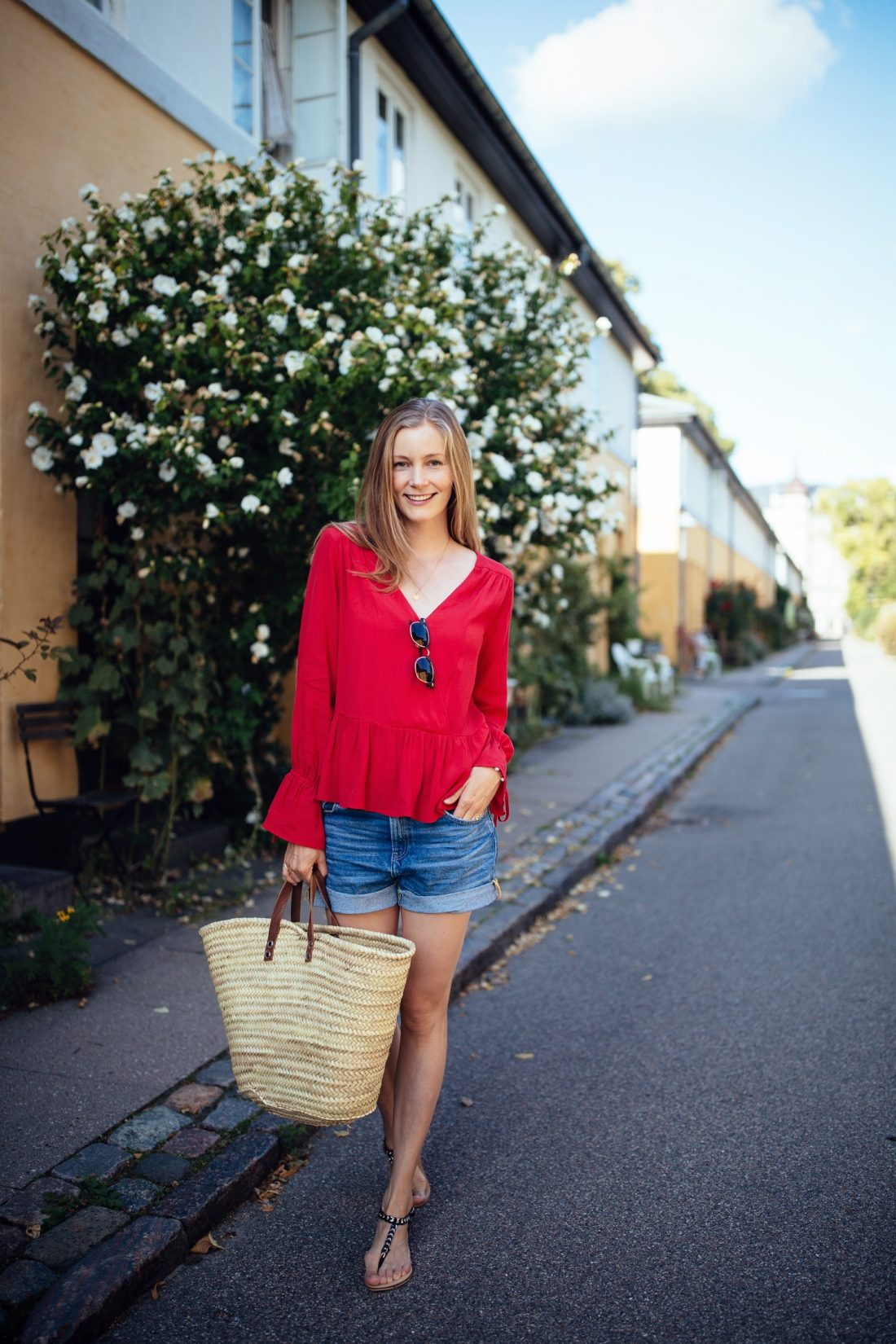 red-wrap-blouse