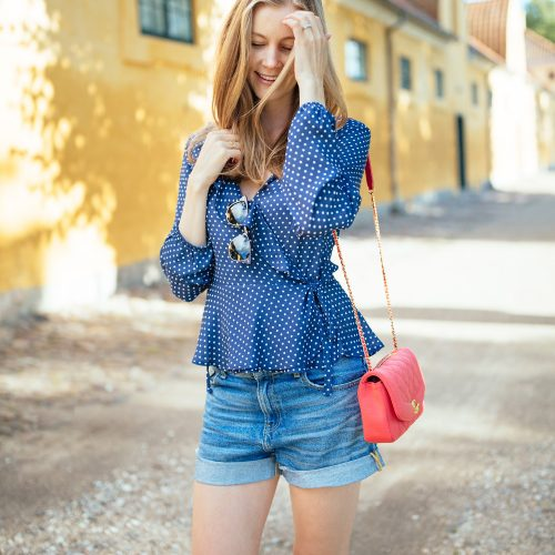 wrap-blouse