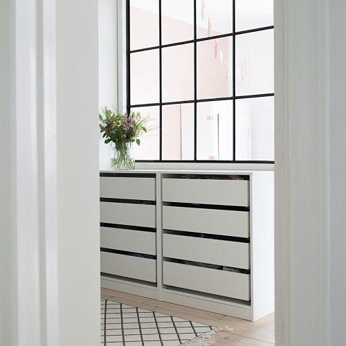 PAX, IKEA HACK, DIY, walk-in-closet