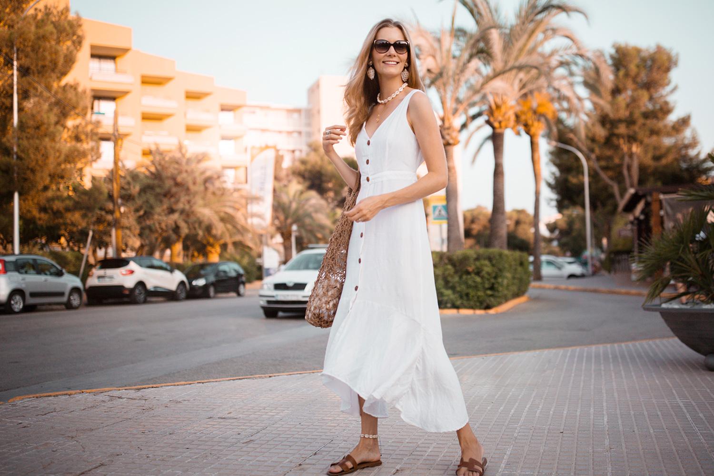 hvid-kjole-mango