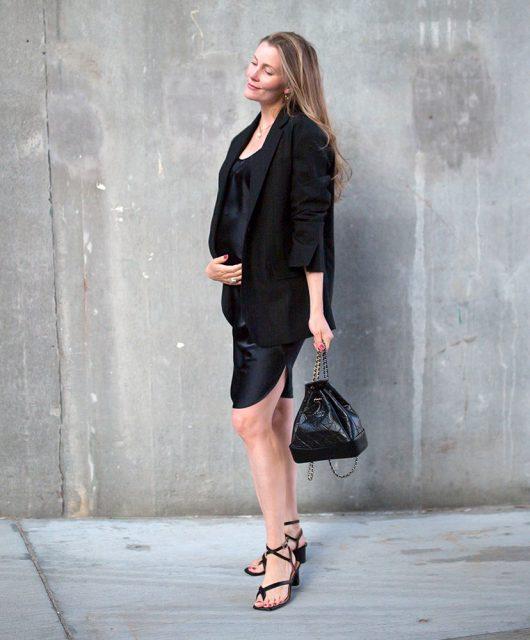sort-kjole
